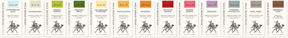 Individual Tea Sachets Boxes
