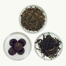 Pu-erh Tea Sample Collection