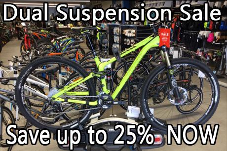 Dual Suspension Sale - Save $$$