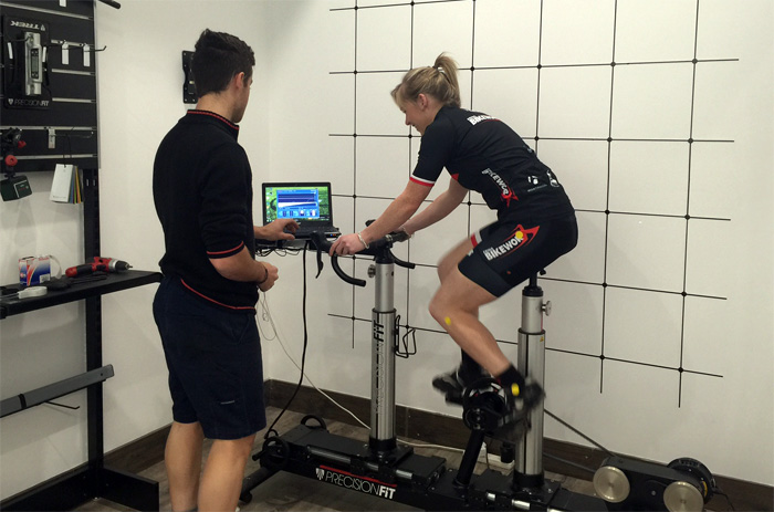 Precision Fit at Erina Bikeworx