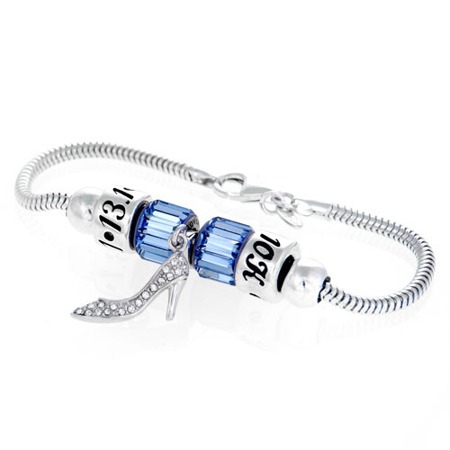 Princess Slipper Bracelet-SS