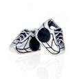 2 European running shoe beads.