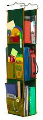 LockerWorks Hanging Organizer - Dark green/rust
