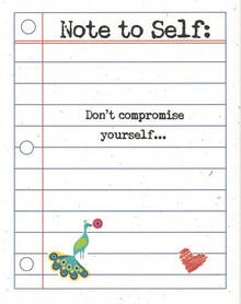 Don't Compromise Yourself