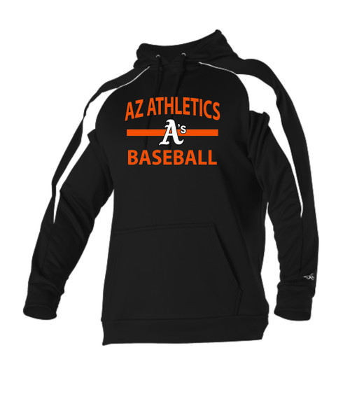 Black Alleson Adult Game Day Fleece Hoodie