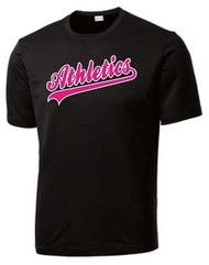 Black Breast Cancer Support Shirt Front