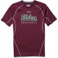 MOUNTAIN RIDGE MAROON SHORT SLEEVE COMPRESSION TEE - MANDATORY