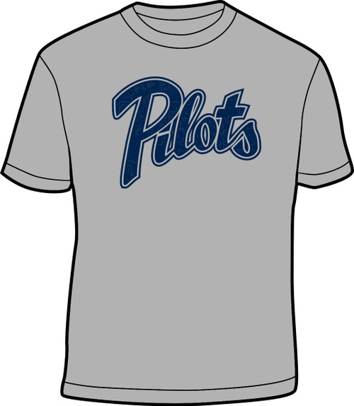 Grey and Navy Youth Practice Shirt