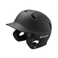 ATHLETICS MATTE BLACK BATTING HELMET WITH A'S LOGO