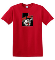 UTAH ROAD DAWGS ADULT LOGO TEE