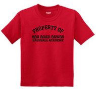 UTAH ROAD DAWGS YOUTH PROPERTY OF T-SHIRTS