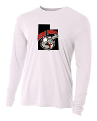 UTAH ROAD DAWGS ADULT LONG SLEEVE COOLING DRIFIT LOGO SHIRT