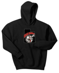 UTAH ROAD DAWGS YOUTH LOGO HOODIE