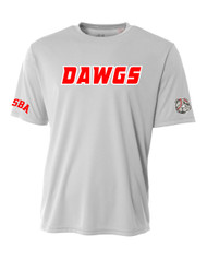 UTAH ROAD DAWGS ADULT DAWGS JERSEY WITH NUMBER