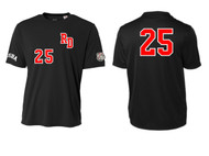 UTAH ROAD DAWGS ADULT RD JERSEY WITH NUMBER