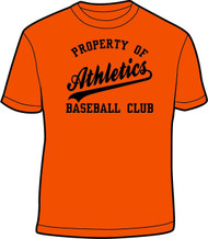 ATHLETICS YOUTH PROPERTY OF T SHIRT