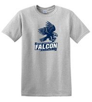 FALCONS ADULT GREY T-SHIRT WITH LOGO