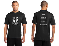 PRIMA DANCE DAD BLACK ADULT PERFORMANCE TEE