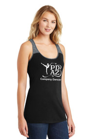 PRIMA DANCE JUNIORS BLACK VARSITY TANK