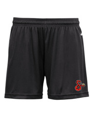 SIDEWINDERS LADIES BADGER SHORTS WITH LOGO