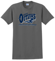 "AZ OUTLAWS ""FULL LOGO"" ADULT FAN T-SHIRT"