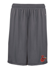 SIDEWINDERS YOUTH SHORTS WITH LOGO