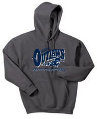 AZ OUTLAWS ADULT HOODED FAN SWEATSHIRT