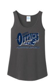 AZ OUTLAWS LADIES TANK TOP