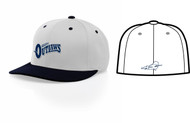 AZ OUTLAWS FLEXFIT HAT WITH LOGO