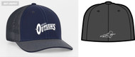 AZ OUTLAWS PACIFIC TRUCKER FLEXFIT HAT WITH LOGO