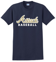 ATTACK BASEBALL COTTON FAN SHIRTS
