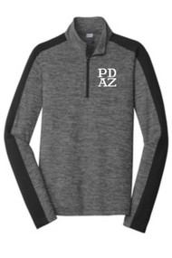 PRIMA DANCE ADULT COLORBLOCK 1/4 ZIP PULLOVER
