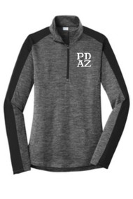 PRIMA DANCE LADIES COLORBLOCK 1/4 ZIP PULLOVER