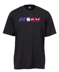 STORM BLACK DRIFIT SHIRT WITH USA LOGO & FLAG