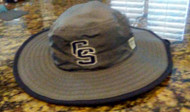 FALCONS GREY/NAVY GAME BOONIE HAT WITH LOGOS
