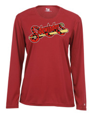 SIDEWINDERS LADIES LONG SLEEVE DRIFIT SHIRT WITH LOGO