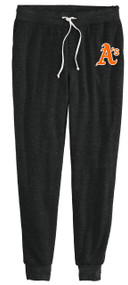 ATHLETICS BLACK FLEECE PANT WITH A's LOGO