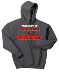 SIDEWINDERS ADULT PROPERTY OF HOODED SWEATSHIRT