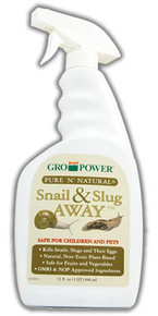 Gro-Power Pure 'n' Natural Snail & Slug Away RTU Sprayer