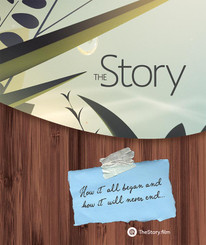 The newly designed booklet cover that reflects new imagery from The Story Short Film.