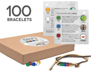 (NEW) The Story Bracelet Kit (100-Pack)