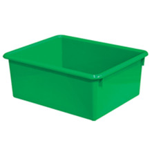 "WD78006 5"" Rectangular Letter Trays - Green"