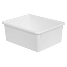 "WD78008"" Rectangular Letter Trays - White"