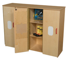 WD990540 Toddler Cubby Storage