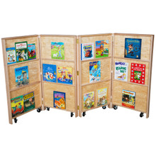 WD990682 Mobile Bookcase
