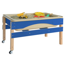 WD11835TNB Blueberry The Absolute Best Sand & Water Sensory Center without Lid