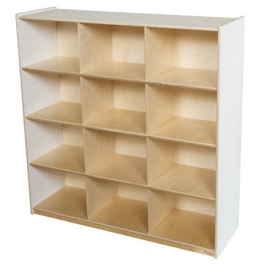 Image 1  sc 1 st  Wood Designs & WD50912WHT (12) White Cubby Storage - WoodDesigns