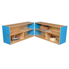 "WD12530B Blueberry™ Folding Versatile Storage Unit, 24""H"