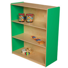 "WD12942G Green Apple™ Bookshelf, 42""H"