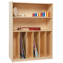 WD12990 Tip-Me-Not™ Bookcase